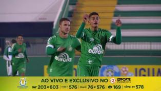 VÍDEO: Guilherme marca gol do meio da rua em estreia da Chape no Brasileirão de Aspirantes