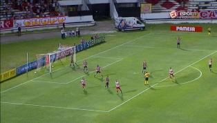 VÍDEO: GOOOL! Wallace Pernambucano aproveita falha de goleiro e abre o placar para o Timbu