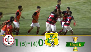 VÍDEO: Confira os melhores momentos de Campinense e Brasiliense pelas oitavas de final da Série D