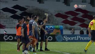 VÍDEO: Confusão entre o elenco do Remo e a arbitragem marca o final da derrota para o Santa Cruz