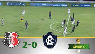 VÍDEO: Com confusão no final, Santa Cruz vence o Remo na Série C