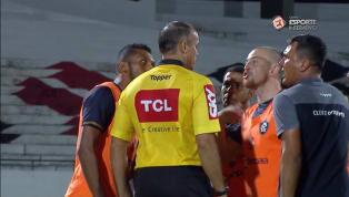 VÍDEO: Integrante da comissão técnica do Remo admite agressão a quarto árbitro