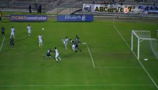 VÍDEO: Marcos Aurélio converte pênalti e Botafogo-PB abre o placar contra o ABC, pela Série C