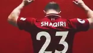 OFICIAL: Liverpool anuncia contratação de  Xherdan Shaqiri, do Stoke City