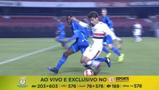 VÍDEO: No Morumbi, São Paulo e Avaí ficam no 1 a 1 pelo Brasileirão de Aspirantes
