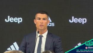 VÍDEO: Cristiano Ronaldo fala sobre a decisão de trocar o Real Madrid pela Juventus