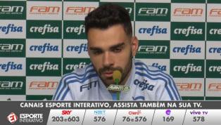 VÍDEO: Bruno Henrique diz que o Palmeiras vai em busca da vitória contra o Santos