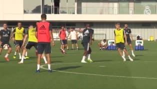 VÍDEO: O primeiro treino de Vinicius Junior com a camisa do Real Madrid