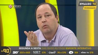 VÍDEO: Dirigente do Santos revela acordo 'muito próximo' com Carlos Sánchez