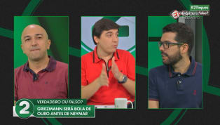VÍDEO: '2 Toques': Griezzmann vencerá a Bola de Ouro antes de Neymar
