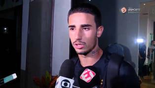 VÍDEO: Thiago Galhardo reclama de postura do time do Bahia ao retardar o jogo
