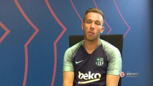 VÍDEO: Arthur fala sobre escolha de número da camisa no Barcelona