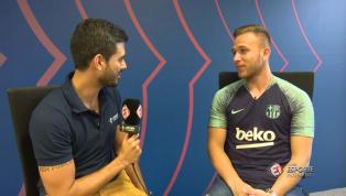 VÍDEO: Arthur fala sobre ansiedade para atuar ao lado de Coutinho, Messi e estrelas do Barcelona