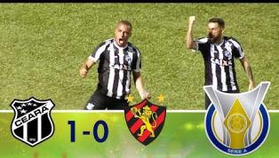 Arthur Cabral marca o primeiro gol da volta do Brasileirão e dá a vitória ao Ceará contra o Sport