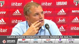 VÍDEO: Aguirre reclama da arbitragem e diz que pressão da torcida pode ter motivado expulsão