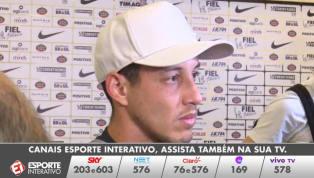 VÍDEO: Rodriguinho fala sobre possível saída: 'Se tiver que acontecer, vai acontecer naturalmente'