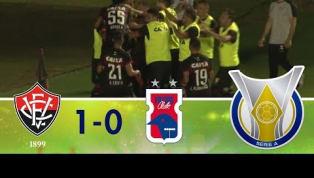 Confira os melhores momentos de Vitória 1 x 0 Paraná