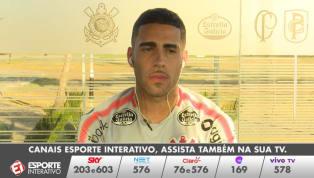 VÍDEO: Gabriel afirma que clássico contra o São Paulo chega no 'momento certo' para o Corinthians