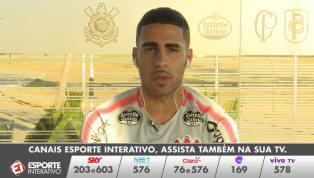 VÍDEO: Gabriel diz que o Corinthians 'vem forte' na briga pelo título brasileiro