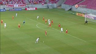 VÍDEO: Com gol no final do jogo, Náutico bate a Juazeirense na Arena Pernambuco