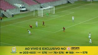 VÍDEO: Sport faz 3 a 2 no Figueirense e consegue primeira vitória no Brasileirão de Aspirantes