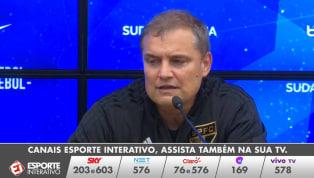 VÍDEO: Aguirre minimiza derrota, mas avisa: 'O que não pode acontecer é deixar nos afetar'