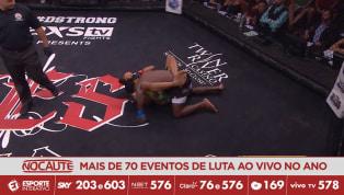 CES MMA 51 - Nate Andrews apaga D'Juan Owens e defende o cinturão peso-leve