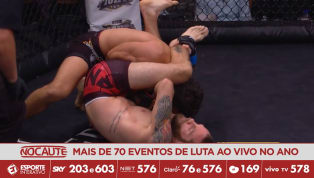 CES MMA 51 - Jacob Bohn aplica lindo triângulo e finaliza Lewis Corapi