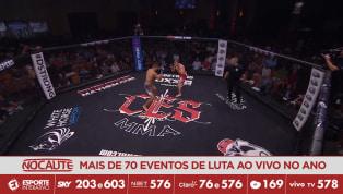 CES MMA 51 - Blair Tugman mostra wrestling impecável  e domina Shane Manley na decisão