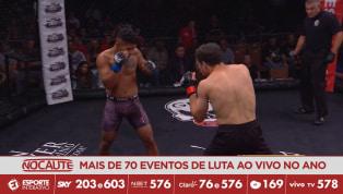 CES MMA 51 - Dylan Lockard luta com inteligência e vence Brande Seyler Jr na decisão