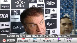 VÍDEO: Cuca defende Gabigol e comenta a situação do Santos