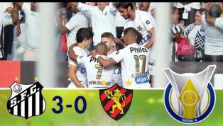 Santos bate Sport na Vila Belmiro e deixa a zona de rebaixamento