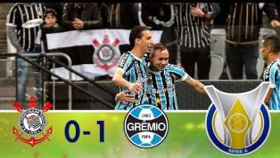 Grêmio bate Corinthians em Itaquera e diminui distância para o líder