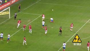 VÍDEO: QUE ISSO, JOGADOR?! Gilberto desperdiça chance do Bahia contra o Inter