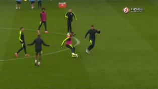 VÍDEO: Gabriel Jesus faz belo gol em treino aberto do Manchester City