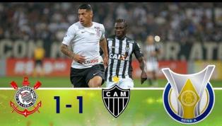 Em jogo morno, Corinthians e Atlético-MG ficam no 1 a 1