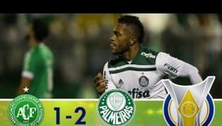 Palmeiras vence a Chape na Arena Condá e se aproxima da ponta da tabela do Brasileirão