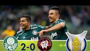 Em casa, Palmeiras supera o Atlético-PR e encosta nos líderes do Brasileirão; veja