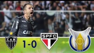 No Independência, Atlético-MG bate o São Paulo, que perde a liderança do Brasileiro