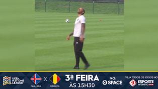 VÍDEO: Thierry Henry dá show de habilidade em treino da Bélgica
