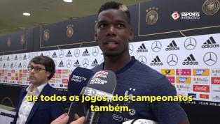 VÍDEO: Pogba revela cansaço de seleção francesa após Copa