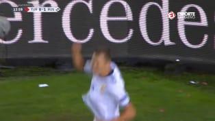 VÍDEO: Cheryshev pega de primeira e manda uma bomba para o gol