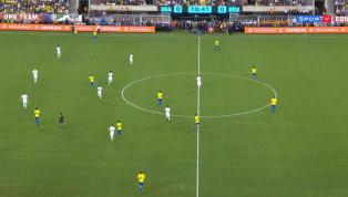Com gols de Neymar e Firmino, Brasil bate os Estados Unidos; veja os melhores momentos