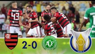 Flamengo vence a Chapecoense no Maracanã; veja os melhores momentos