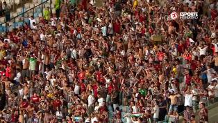 VÍDEO: Torcida do Fluminense ironiza botafoguenses após vitória no clássico