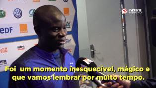 VÍDEO: N'Golo Kanté fala sobre recepção da torcida francesa à seleção campeã