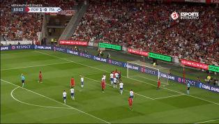 VÍDEO: Sensacional! Donnarumma faz grande defesa e impede segundo gol de Portugal