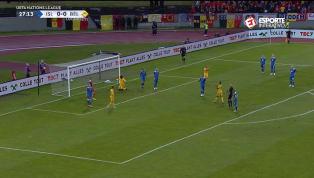 VÍDEO: Lukaku é derrubado na área, Hazard bate o pênalti e abre o placar para a Bélgica