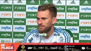 VÍDEO: Lucas Lima admite sonho de voltar à Seleção e de atuar na Europa