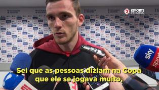 VÍDEO: Robertson fala sobre vaias a Neymar e prega atenção a jogador na Liga dos Campeões
